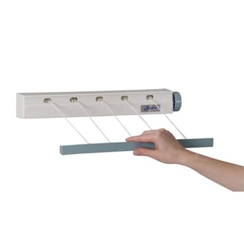 Household Essentials Retractable Indoor Mini Drying Rack