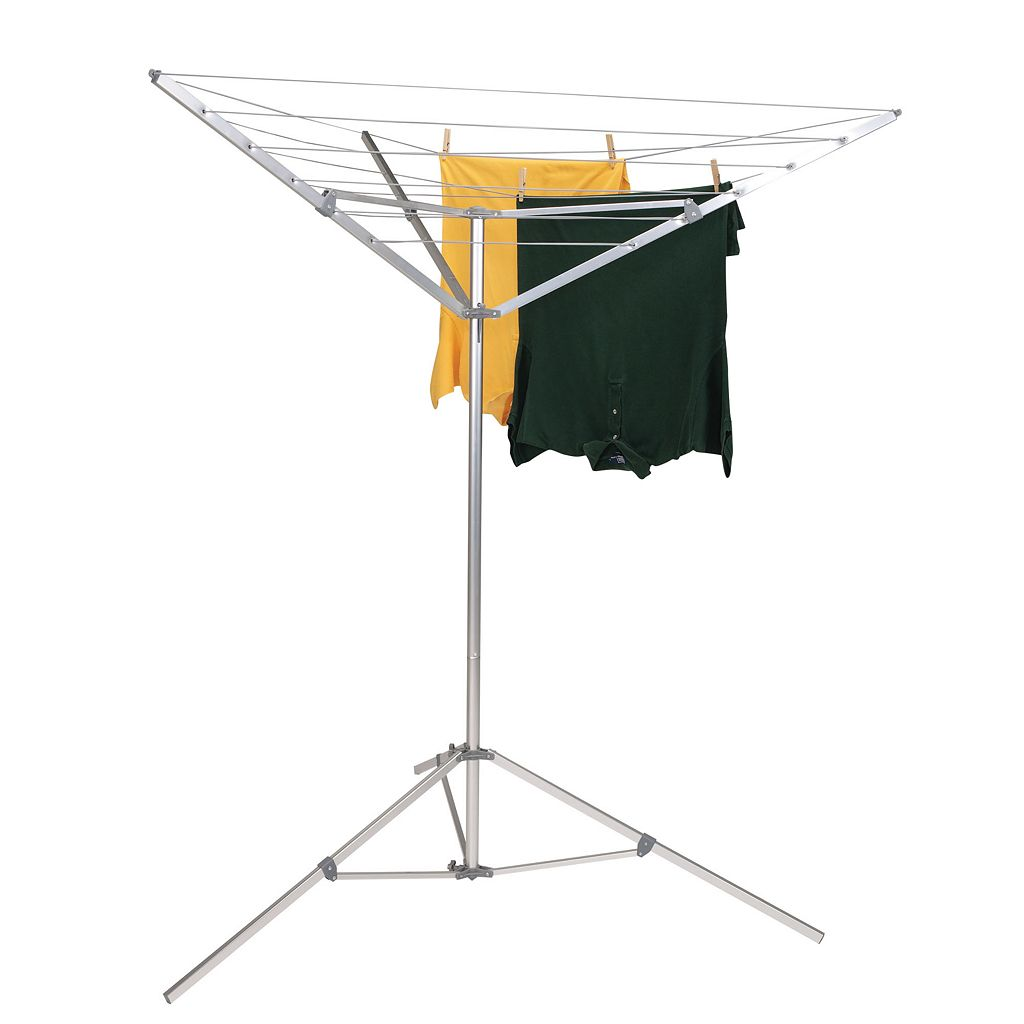 Household Essentials Portable Outdoor Umbrella Drying Rack