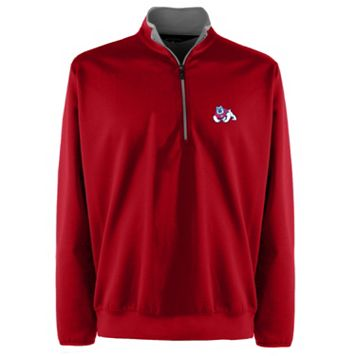 Men's Fresno State Bulldogs 1/4-Zip Leader Pullover