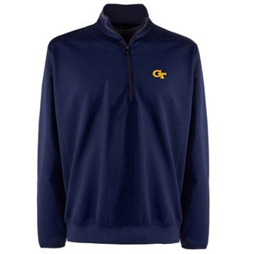 Men's Georgia Tech Yellow Jackets 1/4-Zip Leader Pullover