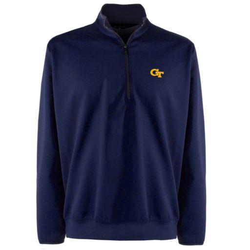 Men's Georgia Tech Yellow Jackets 1/4-Zip Leader Pullover