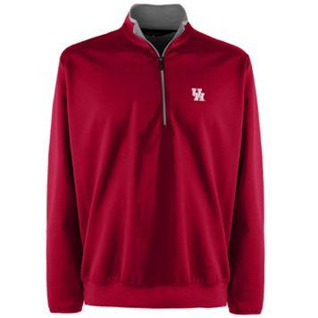 Men's Houston Cougars 1/4-Zip Leader Pullover