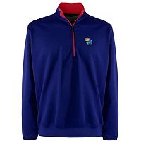 Men's Kansas Jayhawks 1/4-Zip Leader Pullover