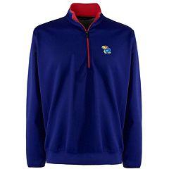Men's Kansas Jayhawks 1/4-Zip Leader Pullover