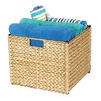 Household Essentials Wicker Storage Bin