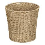 Household Essentials Seagrass Wicker Wastebasket
