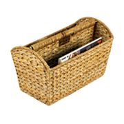 Household Essentials Wicker Magazine Rack