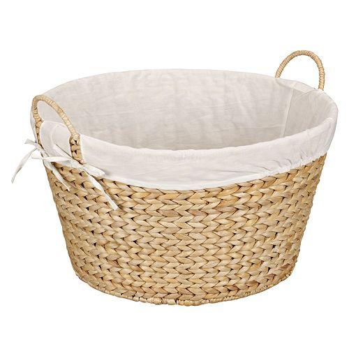 Household Essentials Wicker Laundry Basket
