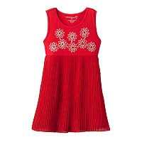 Design 365 Pleated Flower Dress - Toddler