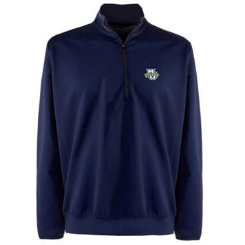 Men's Marquette Golden Eagles 1/4-Zip Leader Pullover