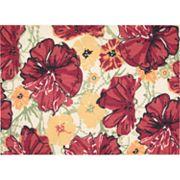 Nourison Vista Floral Rug - 2'6' x 4'