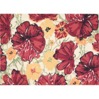 Nourison Vista Floral Rug - 2'6'' x 4'