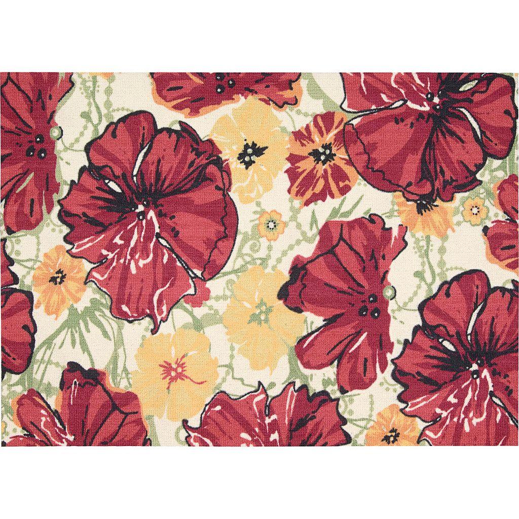 Nourison Vista Floral Rug - 5' x 7'