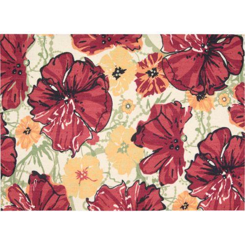Nourison Vista Floral Rug – 5′ x 7′