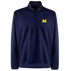 Men's Michigan Wolverines 1/4-Zip Leader Pullover