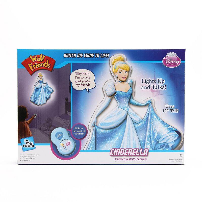 Disney Princess Cinderella Interactive Wall Character by Uncle Milton