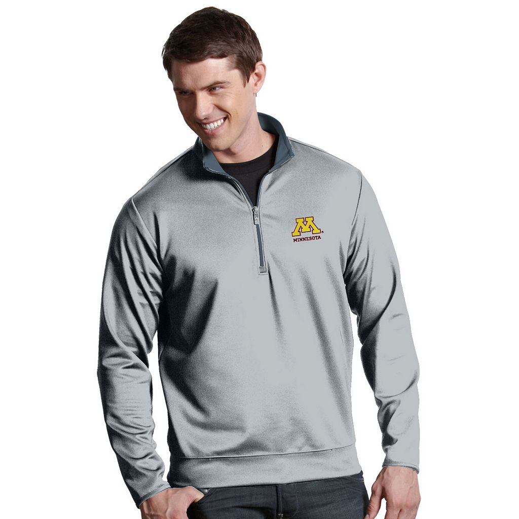Men's Minnesota Golden Gophers 1/4-Zip Leader Pullover