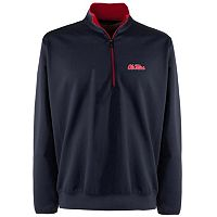 Men's Ole Miss Rebels 1/4-Zip Leader Pullover