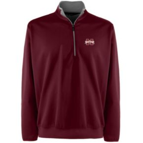 Men's Mississippi State Bulldogs 1/4-Zip Leader Pullover