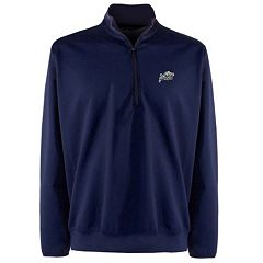 Men's Navy Midshipmen 1/4-Zip Leader Pullover
