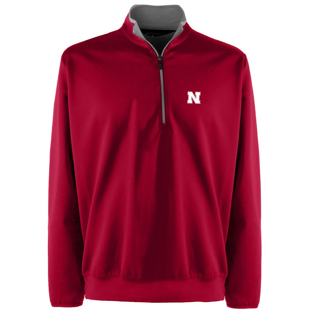 Men's Nebraska Cornhuskers 1/4-Zip Leader Pullover