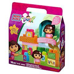 Dora the Explorer Talking Dora's School Set by Mega Bloks