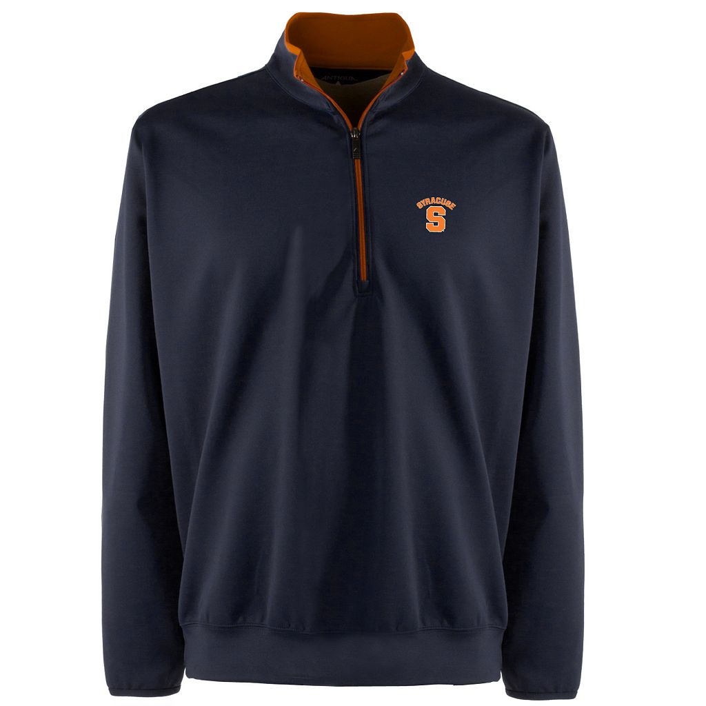 Men's Syracuse Orange 1/4-Zip Leader Pullover