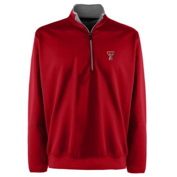 Men's Texas Tech Red Raiders 1/4-Zip Leader Pullover
