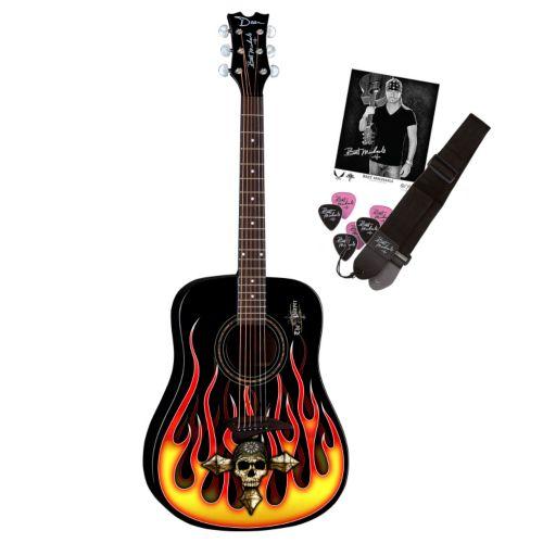 Dean Guitars Bret Michaels Acoustic Guitar Pack