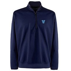 Men's Villanova Wildcats 1/4-Zip Leader Pullover