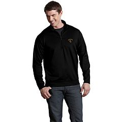 Men's Wyoming Cowboys 1/4-Zip Leader Pullover
