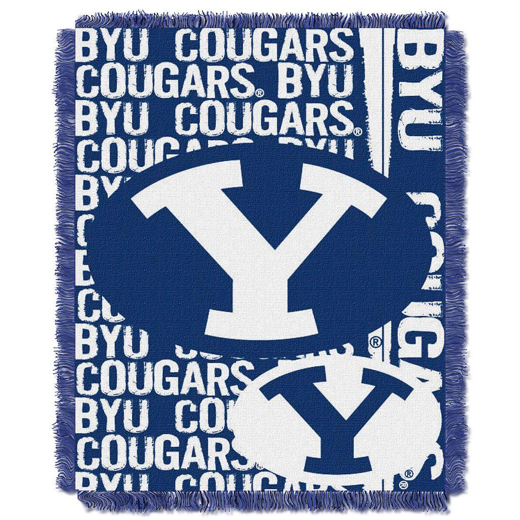 BYU Cougars Jacquard Throw Blanket by Northwest