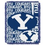 BYU Cougars Jacquard Throw Blanket by Northwest