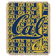 California Golden Bears Jacquard Throw Blanket by Northwest