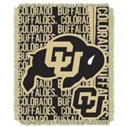 Colorado Buffaloes Jacquard Throw Blanket by Northwest