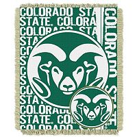 Colorado State Rams Jacquard Throw Blanket by Northwest