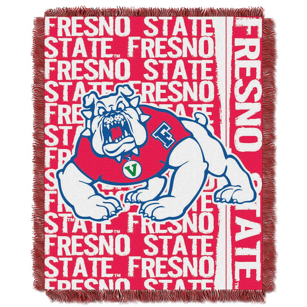 Fresno State Bulldogs Jacquard Throw Blanket by Northwest