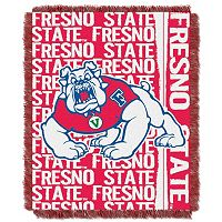 Fresno State Bulldogs Jacquard Throw Blanket by Northwest