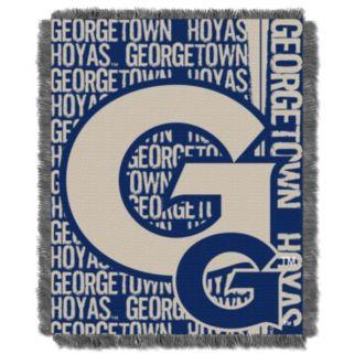 Georgetown Hoyas Jacquard Throw Blanket by Northwest