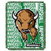 Marshall Thundering Herd Jacquard Throw Blanket by Northwest