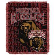 Montana Grizzlies Jacquard Throw Blanket by Northwest