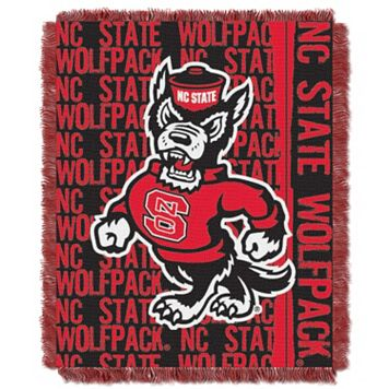 NC State Wolfpack Jacquard Throw Blanket by Northwest