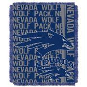 Nevada Wolf Pack Jacquard Throw Blanket by Northwest