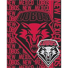 New Mexico Lobos Jacquard Throw Blanket by Northwest
