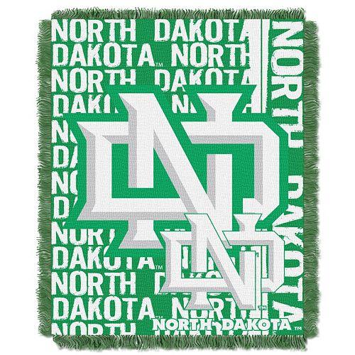 University of North Dakota Jacquard Throw Blanket by Northwest