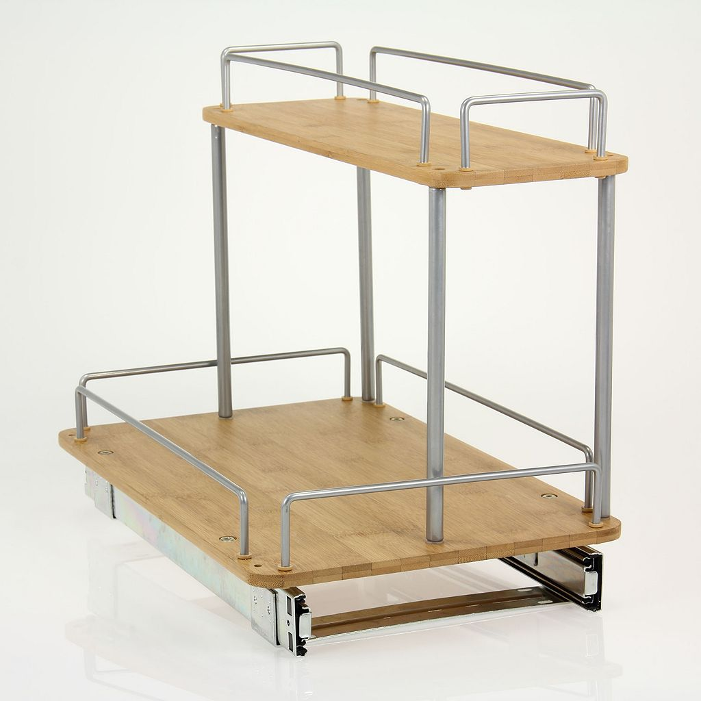 Glidez 2-Tier Sliding Under-Sink Organizer