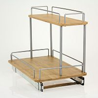Glidez 2 tier Sliding Under-Sink Organizer