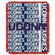 UConn Huskies Jacquard Throw Blanket by Northwest