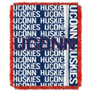 UConn Huskies Jacquard Throw Blanket by Northwest