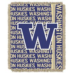 Washington Huskies Jacquard Throw Blanket by Northwest